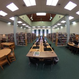 Pacifica High School - Library view 1