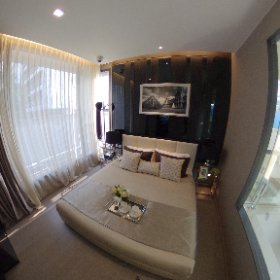 The Esse Asoke 2 Bedroom 75.5sq.m (Master Bedroom 360° View)