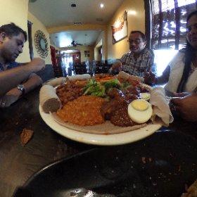 Ethiopian restaurant #theta360