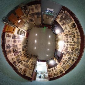 Another experimental 360 degree image from Ilfracombe Museum of their WW1 exhibition.