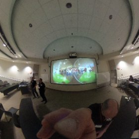 #VWEconf and our presentation last slide.  #theta360