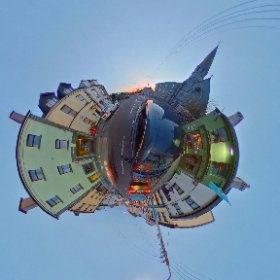 Sunset at Galway's West End www.divmedia.ie #theta360 #theta360uk