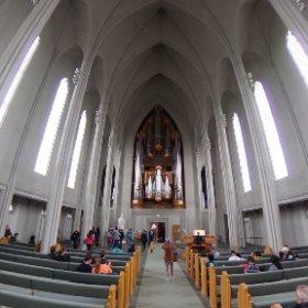 ハットルグリムス教会(アイスランド) #theta360