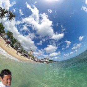 サーフィン後の1枚♪#ハワイ #サーフィン #サーファーガールアカデミーアカデミー #theta360