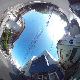 鹿児島市真砂町【貸事務所】鉄骨造3階建2階部分約14,5坪家賃 70,000円 #theta360