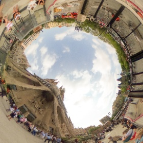 Sagrada Familia, Barcelona, Spain #theta360