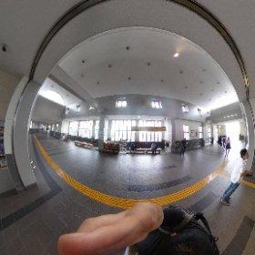 館林駅2 #theta360