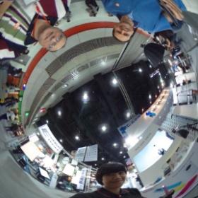 Testing Theta 360 camera