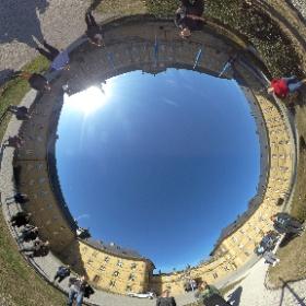 Seminar zu immersivem Journalismus auf Kloster Banz! #360GradSeminarGruppenSelfie