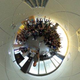 Reinaldo y su Camino de Santiago #gdgsummites los GDGs en el summit saludan en 360 grados #theta360