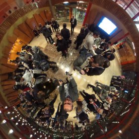 Networking event in 360 degrees Powered by @FIware #fiwaresummit  #theta360
