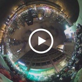 360 degree panoramic video of Chitown Rising New Year's celebration #chitownrising