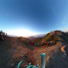 燕山荘から ゴライコーアメージング(*゚∀゚) #miku360 #theta360