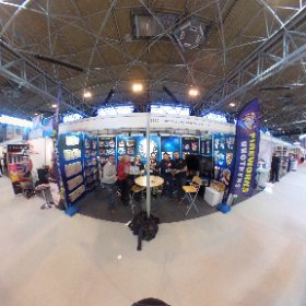 Brothers Pyrotechnics at the NEC #theta360 #theta360uk