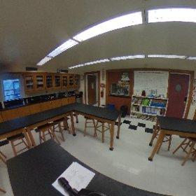 Chemistry Lab #marymount360 #theta360