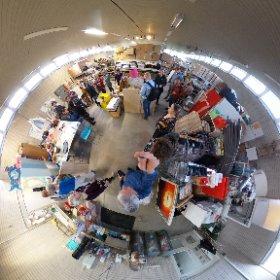 De schatkamer van het Pedagogisch centrum van Kolding in 360 graden. #theta360