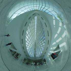 Check out this amazing view of the breath-taking Milwaukee Art Museum!  The #MAM is one of our favorite venues in #Wisconsin  #weddingvenue #vrphotography #theta360