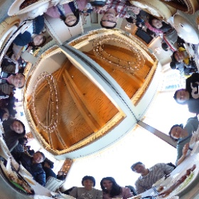 1 Jan 2017 family lunch #snowcrystal3d #theta360