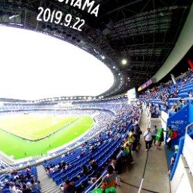 360° Photo #RWC2019 #RWC横浜 #IREvSCO #theta360