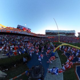 360 degree view of The Gators taking the field before the spring game #OBDebut