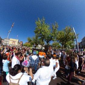Disfrutando de las fiestas de #MedinaDelCampo con el #LifeiMarketing