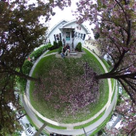 A year and a week in our new house, plus one new member of the family! #sakura3d  #theta360