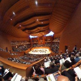 The Walt Disney Concert Hall of the LA Phil #theta360