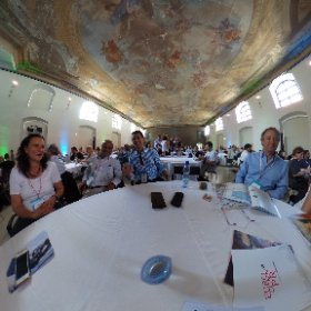 #GENSummit is about to start, in VERY good company! #SouthisGreat #theta360