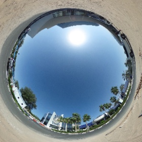 Work goes on at the Al Jazeera compound in Doha #theta360