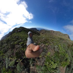 Mountains of Masca in Tenerife, Canary Islands. #theta360