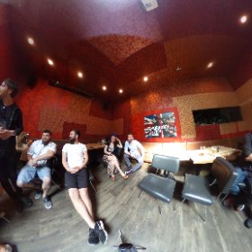 #mainstreetcup mixologists from Main St. restaurants and bars in friendly competition @thecascaderoom #main411 #vancouver #mainstreet #mountpleasant  #theta360 #theta360uk