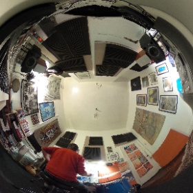 Ashley Davies Drum Room #theta360