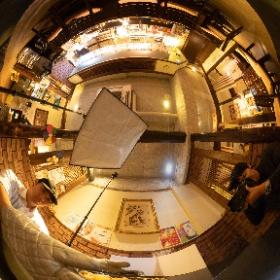 高知市にある韓国居酒屋キョンボックン様の撮影 #theta360