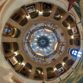 Minnesota State Capital building remodel in #tinyworld #onlyinmn #theta360