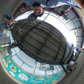 「葉山女子旅きっぷ」はここからスタートですね! Have a fun trip @ 京急新逗子駅  ドイツ式カイロプラクティック逗子整体院 www.zushi-seitai.com    #theta360
