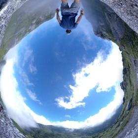 永田岳、神様の窪  屋久島を自由に旅する  GREEN MOUNT   #theta360
