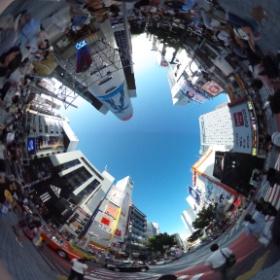 Shibuya crossing - Tokyo!!!