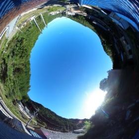 美濃屋根から写真
