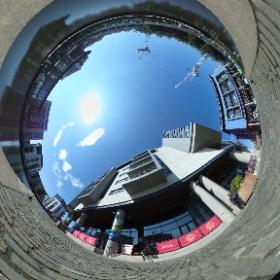 Fountainbridge Square, Union Canal #theta360