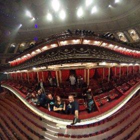 In the Royal Box @Royal Albert Hall #theta360