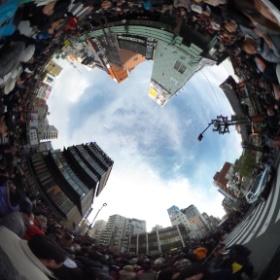 Senso-Ji, crowded.