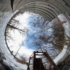 @DenisCoderre Douzaines de cas de vandalism dans les parcs nature de Montréal - Dozens of vandalism cases in Montreal's Nature Parks - Ile de la Visitation #theta360