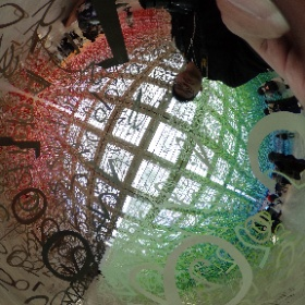 数字の森とthetaのシナジーよすぎる #国立新美術館 #theta360
