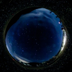 昨夜の星空撮影会の様子です #theta360