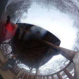 3. 小倉山山頂にて #theta360