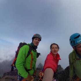 #Carstensz summit. Russell Brice in 3D :) #theta360 #theta360uk