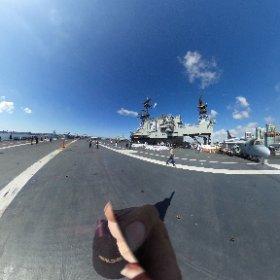 ミッドウェー飛行甲板VR