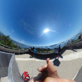 弥山山頂360° #theta360