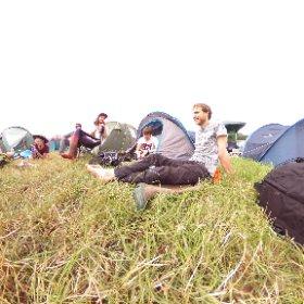 Camped. #theta360