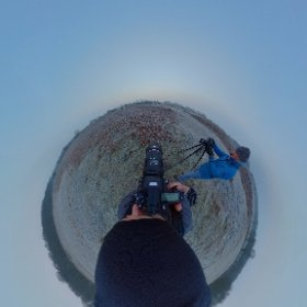 It's a nice frosty morning here. Time to put the 645z through it's paces!  #pentax645z #theta360 #sirui